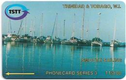 Trinidad & Tobago - Smooth Sailing S3 - 113CTTA - 1996, 10.000ex, Used - Trinité & Tobago
