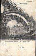 Luxembourg - Décintrement Du Nouveau Pont - Janvier 1902 - Luxembourg - Ville
