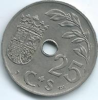 Spain - Republic - 25 Centimos - 1937 - KM753 - [ 2] 1931-1939 : République