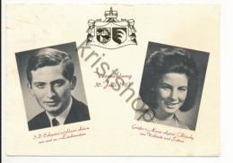 Liechtenstein - Vaduz - Vermählung 30. Juli 1967 [Z02-3.148 - Liechtenstein