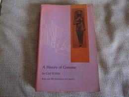 A History Of Costume By Carl Kohler - Libros Antiguos Y De Colección