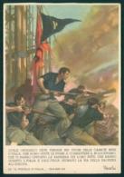 Militari Fascismo PNF Firmata Mussolini Boccasile FG M120 - Unclassified