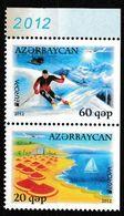 (!)  Timbre EUROPA CEPT De 2012   AZERBAIDJAN  Y&T 783/784 Neuf(s) ** Mnh - Europa-CEPT