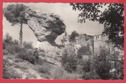 CPSM-34-CIRQUE De MOURÈZE- Le Champignon Et L'église* Sup- *2 Scans - Lamalou Les Bains