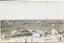 Carte-photo - Campagne Contre Les Druzes (1925/1926) - MOUSSEIFRE - Vue Générale Du Camp. Animée. - Syrie