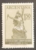 ARGENTINE YT 556 NEUF*  ANNÉE 1955 - Argentina