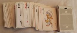 M#0W100 AVIAZIONE / CARTE DA GIOCO PUBBLICITARIO UNITED AIRLINES /POKER - Jeux De Cartes
