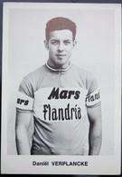 Carte Cyclisme Coureur Cycliste Flandria Daniel VERPLANCKE - Cyclisme