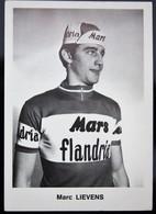 Carte Cyclisme Coureur Cycliste Flandria Marc LIEVENS - Cyclisme