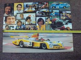Poster Original Renault Alpine A 442 Le Mans . - Voitures (Courses)