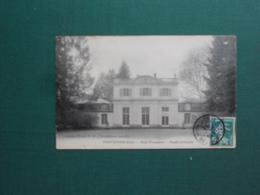 CPA FONTAINEBLEAU HOTEL POMPADOUR FACADE PRINCIPALE 1911  EXC ETAT - Fontainebleau