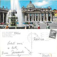 Città Del Vaticano. Basilica Di S. Pietro. Viaggiata 1966. Animata - San Pietro
