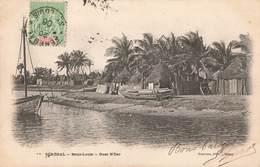 Sénégal Saint Louis Guet N'dar + Timbre Cachet 1906 - Sénégal
