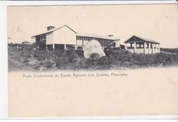 CPA Old Pc Brésil Brazil Piracicaba Posto Zootechnico Escola Agricola L Queiros - São Paulo