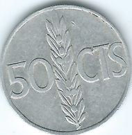Spain - Regency - 1966 - 50 Centimos - KM795 - [ 4] 1939-1947 : Gobierno Nacionalista