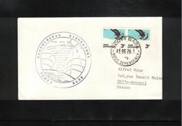 Ross Dependency 1976 Scott Base Geophysical Laboratory Interesting Letter - Dépendance De Ross (Nouvelle Zélande)