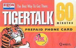 USA - QWest - Prepaid - Tigertalk - EXXON - Etats-Unis