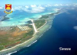 Kiribati Tarawa Bonriki Airport Aerial View New Postcard - Kiribati