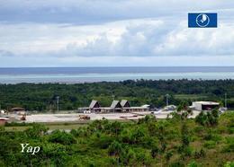 Micronesia Yap Island Airport New Postcard Mikronesien AK - Micronésie