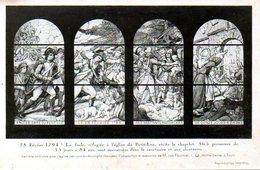 Les Lucs Sur Boulogne (85) : Verrière De L'église Retraçant Les Massacres Du 28 Février 1794 - Les Lucs Sur Boulogne