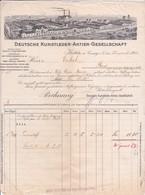 DEU-Deutsche Kunstleder-Aktien-Gesellschaft...Kötitz..(Sachsen.1910 - Allemagne