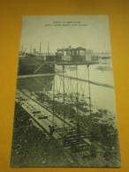 Saint Malo Pont Roulant Marée Basse,Ille Et Vilaine 35,non écrite Environ 1920,très Bel état,envoi En Lettre économique - Saint Malo