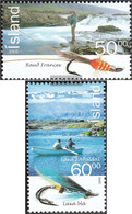 Iceland 1104-1105 (complete Issue) Unmounted Mint / Never Hinged 2005 Salmon - Ungebraucht