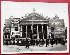 Bourse De Bruxelles - Couverte De Publicité - Cigarettes St-Michel - De Wolf - Sizaire Frères - Lieux