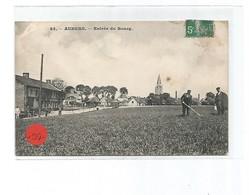 Aubers -entrée Du Bourg - France