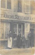 55 . COMMERCY   -- DEVANTURE RESTAURANT LATARCHE -  RUE DE LA PAROISSE - Commercy