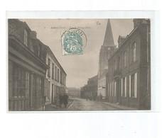 Aubers -rue Du Bourg - France
