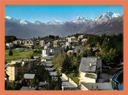 A144 / 253 CRANS MONTANA - Vue Vers Le Massif Du Mont Blanc - Sin Clasificación