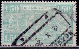 Belgium, 1924, Parcel Post/Railway, 1.50fr, Sc#Q153, Used - Parcel Post & Special Handling