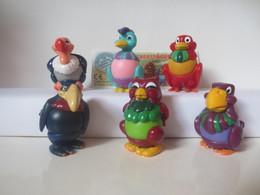 Kinder Surprise Deutch 1995 : Série Oiseaux + 1 BPZ - Aufstellfiguren