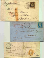 3 Lettres Classiques Ob. Gros Chiffres 4107 Varize, 1895 Jublains - 1849-1876: Periodo Classico