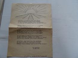 Document GLOIRE AU RAIL 21 Aout 1953  A Voir - Vieux Papiers
