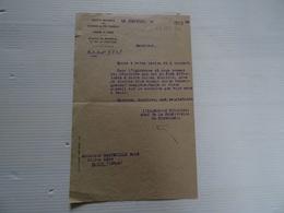 Document SOCIETE NATIONALE DES CHEMINS DE FER 9 JUILLET 1942  A Voir - Vieux Papiers