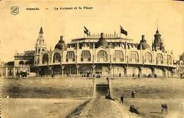 026 953 - CPA - Belgique - Oostende - Le Kursaal Et La Plage - Oostende