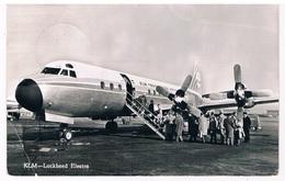 VT-396   LOCKHEED ELECTRA ( KLM ) At Schiphol - 1946-....: Ere Moderne