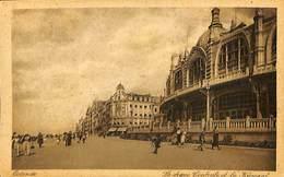 026 957 - CPA - Belgique - Oostende - La Digue Centrale Et Le Kursaal - Oostende