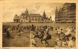 026 958 - CPA - Belgique - Oostende - Ostende - La Plage Et Le Kursaal - Oostende
