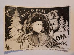 Photo Vintage. L'original. Un Soldat De L'armée Soviétique. - War, Military