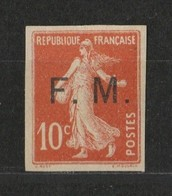 France N°FM5* Signé - Francia