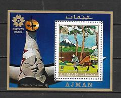 Ajman 1970 EXPO - OSAKA MS MNH - 1970 – Osaka (Japan)