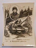 Photo Vintage. L'original. Un Soldat De L'armée Soviétique. Tankman. URSS - War, Military