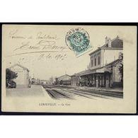 55 - LEROUVILLE (Meuse) - La Gare - Lerouville