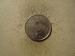MONNAIE ARABIE SAOUDITE 10 HALALA 1980 / 1400 - Saudi Arabia