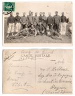(Régiments) 208, Carte Photo, 125e RI Régiment D'Infanterie De Poitiers, 1911 Camp Du Biard - Poitiers