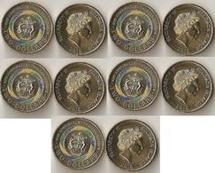 Solomon Islands - 5 Pcs X 2 Dollars 2018 UNC Lemberg-Zp - Solomoneilanden