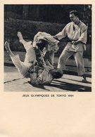 Jeux Olympiques De Tokyo 1964 - Judo - Jeux Olympiques
